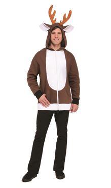 Unisex Reindeer Hoodie