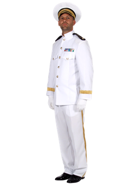 Adult US Navy Sailor Costume Couples Costume