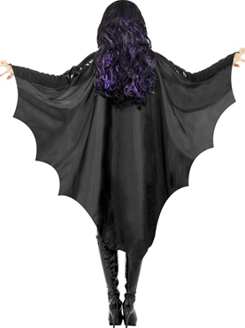 Adult Vampire Bat Wings - Back View