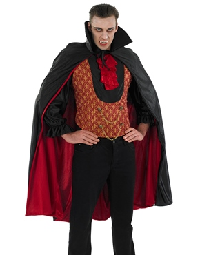 Adult Vampire Count Costume - Back View