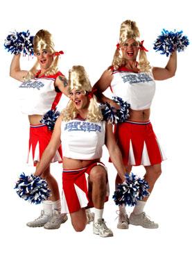 Adult Varsity Cheerleader Costume