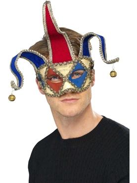 Venetian Musical Jester Eyemask