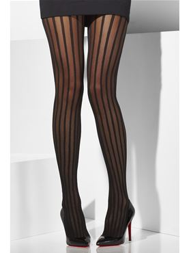 Vertical Striped Tights