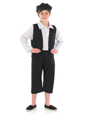 Child Victorian Boy Costume