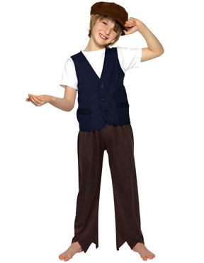 Child Victorian Poor Peasant Boy Kit