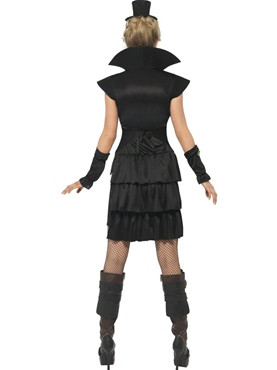 Adult Victorian Vampiress Costume - Side View
