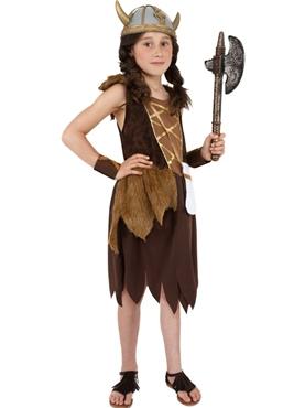 Child Viking Girls Childrens Costume Couples Costume