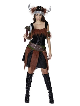 Adult Viking Lady Costume