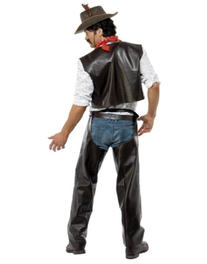 Adult Village People Cowboy Costume - Side View