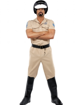 Adult Village People Motorcycle Cop Costume