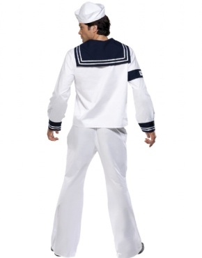 Adult Village People Navy Costume - Side View
