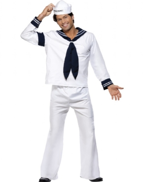 Adult Village People Navy Costume