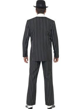 Adult Vintage Gangster Boss Costume - Side View