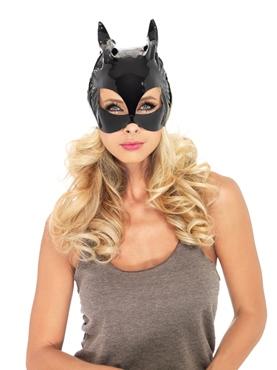 Adult Vinyl Cat Mask