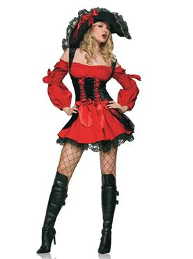 Adult Vixen Pirate Wench Costume Thumbnail