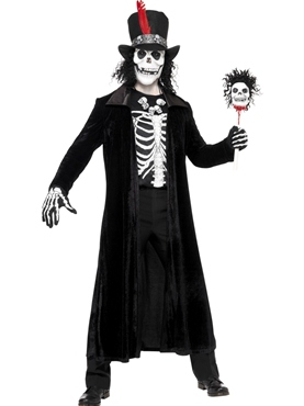 Adult Skeleton Voodoo Man Costume Thumbnail