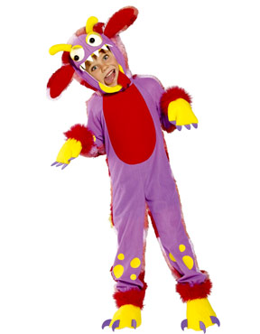 Mini Monsters Wacky Grizzle Childrens Costume