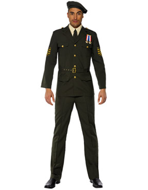 Adult Wartime Officer Costume Thumbnail