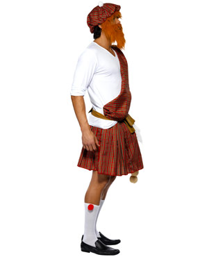 Adult Well Hung Highlander Costume - Side View