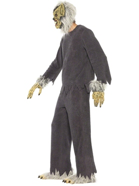 Adult Werewolf Costume - Back View