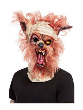 Werewolf Mummy Overhead Mask