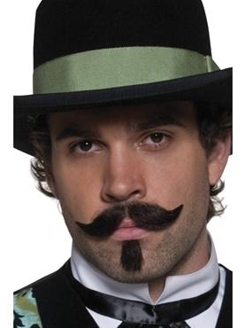 Western Gambler Moustache