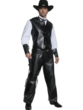 Adult Western Gunslinger Costume Thumbnail