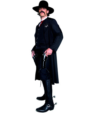 Adult Western Sheriff Costume - Side View
