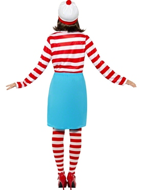 Adult Where's Wally Wenda Female Costume - Side View