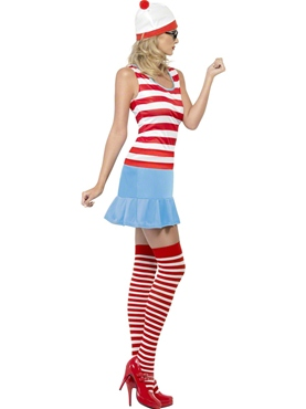 Adult Where's Wenda Wally Cutie Costume - Side View