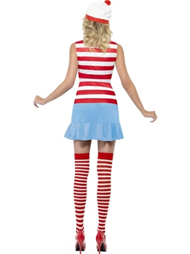 Adult Where's Wenda Wally Cutie Costume - Back View