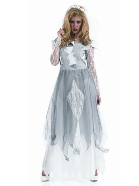 Adult White Corpse Bride Costume
