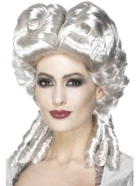 White Marie Antoinette Wig