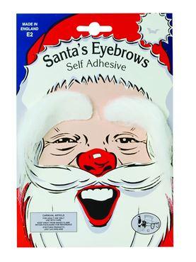 White Santa Eyebrows