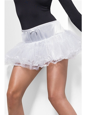 White Tulle Petticoat