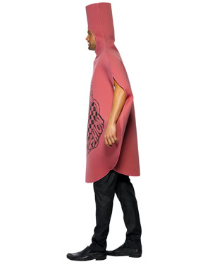 Adult Whoopie Cushion Costume - Side View