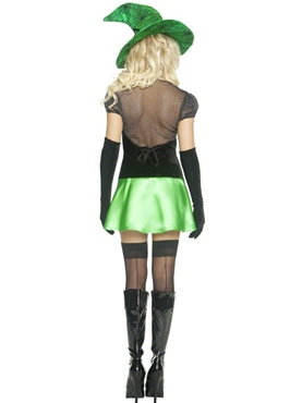Adult Wicked Bitch Costume - Side View
