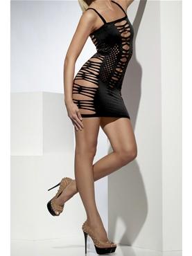Adult Wide Net Clubwear Dress