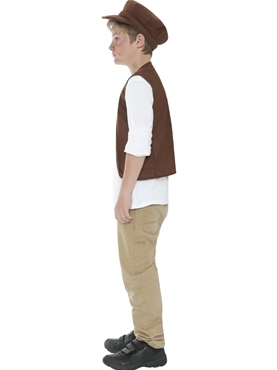 Child Victorian Boy Urchin Set - Back View