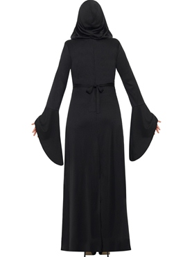 Adult Plus Size Dark Temptress Vamp Costume - Side View
