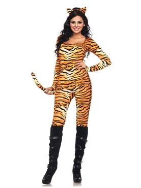 Adult Wild Tigeress Costume Thumbnail