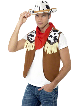 Wild West Male Instant Kit Couples Costume