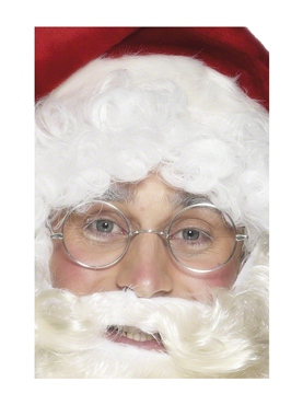 Wire Framed Santa Specs