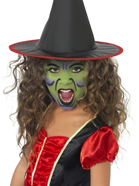 Witch Face and Body Paint Kit