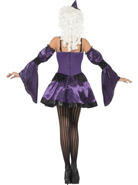 Adult Witch Masquerade Costume - Side View