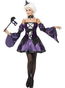 Adult Witch Masquerade Costume Thumbnail