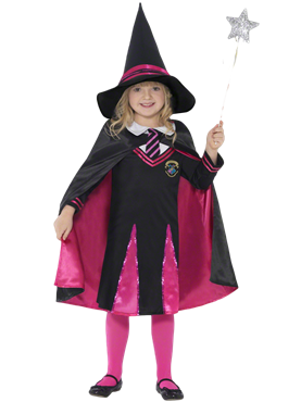 Child Witch School Girl Costume Couples Costume