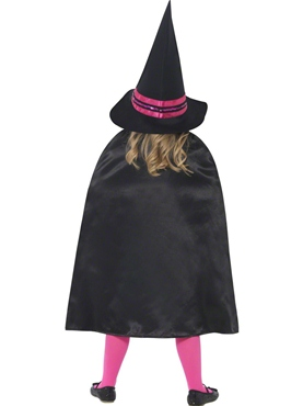 Child Witch School Girl Costume - Side View