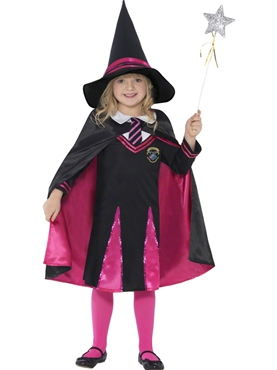 Child Witch School Girl Costume