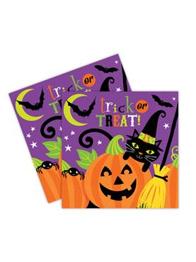 Witches' Crew Luncheon Napkins